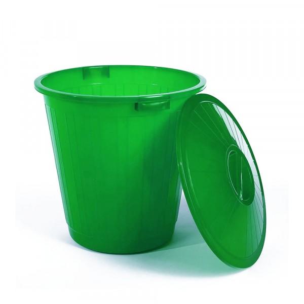 бак пластиковый с крышкой зеленый 50л эп 097594 бак пластиковый с крышкой синий 70л эп 097679