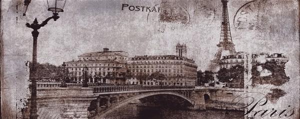 декор postcard grey 1 20х50
