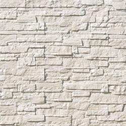 Камень интерьерный Каскад Рейндж А231-00 белый /0,39м.кв./