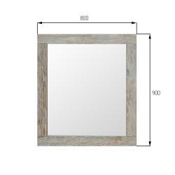 Зеркало Kobuleti 900*20*800 (Сосна санторини)