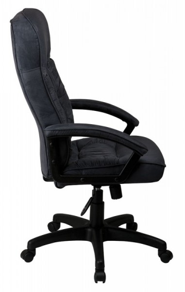 кресло руководителя бюрократ t-9908axsn/mf110 серый mf110 микрофибра