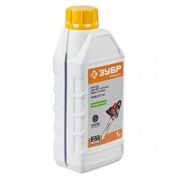 Масло  для 2-х тактных двигателей,  ЗУБР минеральное, соотнош. бензин-масло 50:1, класс API TC, M/F