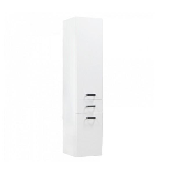 шкаф-пенал подвесной акватон америна 34см белый 1a135203am010 подвесной шкаф колонна акватон венеция 1a151003vn95r черный правый