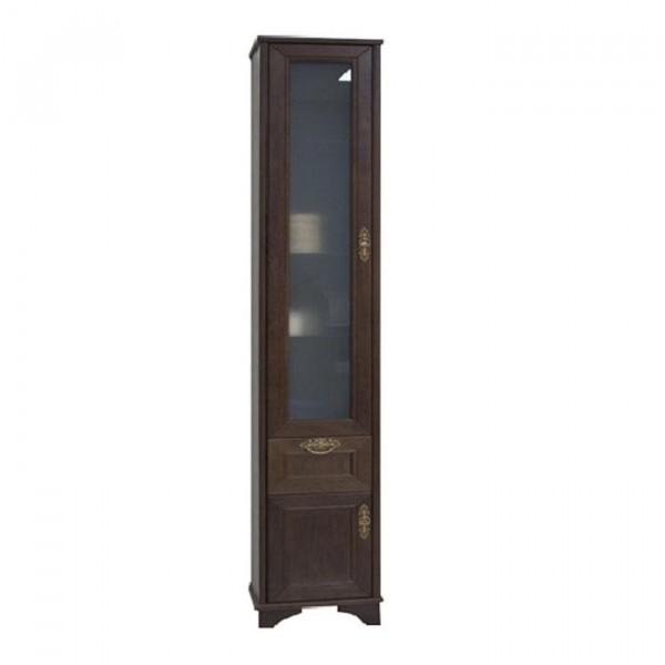 шкаф-колонна акватон идель дуб шоколадный 1a198003idm8r правый