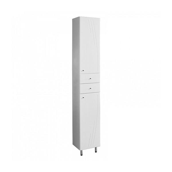 шкаф-пенал правый с корзиной акватон минима-м 1a132303mn01r подвесной шкаф колонна акватон венеция 1a151003vn95r черный правый