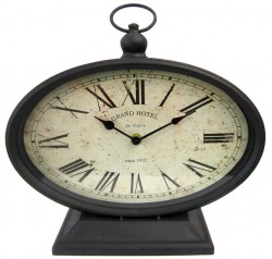 Часы настольные Artlink Oval Table Clock 29x27см 79771