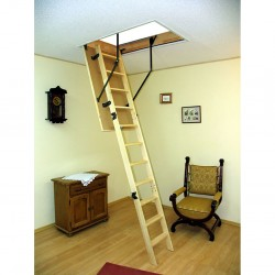 Лестница чердачная деревянная, Oman Standard, 60 x 120 x 280 см