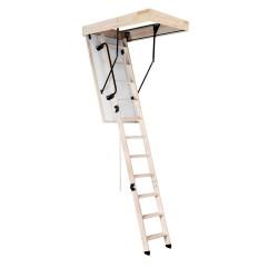 Лестница чердачная деревянная, Oman Extra, 60 x 120 x 300 см