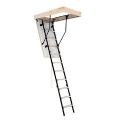 Лестница чердачная комбинированная, Oman Stallux, 60 x 120 x 280 см
