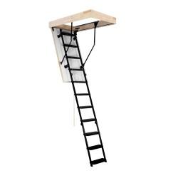 Лестница чердачная металлическая, Oman Metal T3, 70 x 120 x 280 см