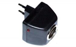 Cетевой адаптер (переходник сеть-прикуриватель) 1000mAh AD-22012A