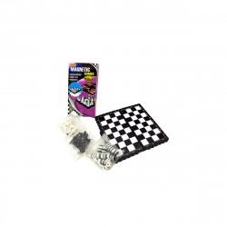 Игра 3 в 1 /шашки, шахматы, нарды магнитные/