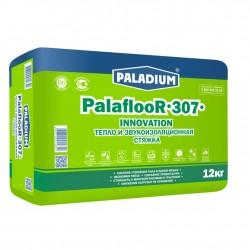 Стяжка тепло- и звукоизоляционная с пеностеклом Paladium PalaflooR-307, 12 кг