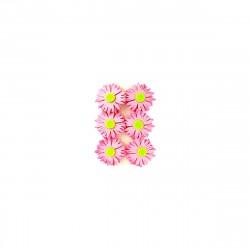 Набор цветов на прищепке фетр,6шт LS42201P