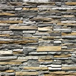 Камень искусственный декоративный Кросс фелл 100-80 серый