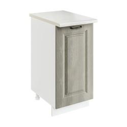 Шкаф-стол рабочий 1С400 Женева (CC 8034 Орех мраморный 34)
