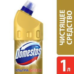 Средство чистящее DOMESTOS для унитаза 1л ультра блеск 099236