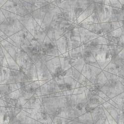 Обои 3709-6 Erismann Alexandria винил на флизе 1.06x10.05, геометрия, серый
