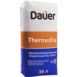 Раствор кладочный теплосберегающий DAUER THERMOFIX 20 кг