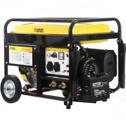 Сварочная генераторная бензиновая установка WG 210Е, 5,0 кВт, 220В, бак 25 л, электростартер DENZEL