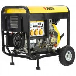 Генератор дизельный DD6300Е, 5,0 кВт, 220В/50Гц, 15 л, электростартер// DENZEL 94657