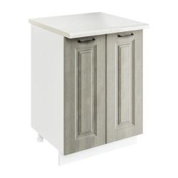 Шкаф-стол рабочий 2С600 Женева (CC 8034 Орех мраморный 34)