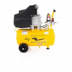 Компрессор пневматический, 1,5 кВт, 206 л/мин, 24 л DENZEL 58061