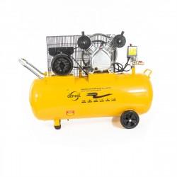Компрессор пневматический, 2,2 кВт, 370 л/мин, 100 л DENZEL 58091
