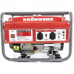 Генератор бензиновый KB 2500, 2,4 кВт, 220В/50Гц, 15 л, ручной старт KRONWERK 94691