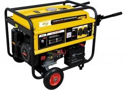 Генератор бензиновый GE 4500Е, 4,5 кВт, 220В/50Гц, 25 л, электростартер DENZEL