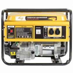 Генератор бензиновый GE 4500, 4,5 кВт, 220В/50Гц, 25 л, ручной старт DENZEL 94636