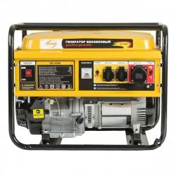 Генератор бензиновый GE 6900, 5,5 кВт, 220В/50Гц, 25 л, ручной старт DENZEL 94637