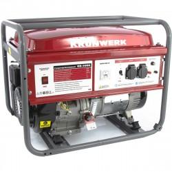 Генератор бензиновый KB 5000, 5,0 кВт, 220В/50Гц, 25 л, ручной старт KRONWERK 94693