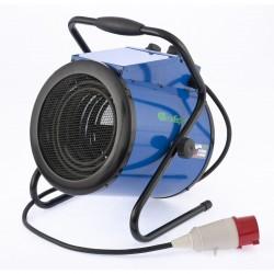 Пушка тепловая ТВ-9 (тепловентилятор) 380 В, 3 режима, вентилятор, 4500/9000 Вт СИБРТЕХ 96435