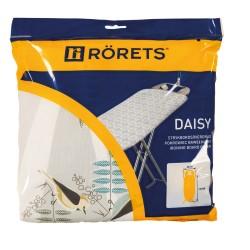 Чехол для гладильной доски RORETS 120х40см Daisy х/б+войлок 7590