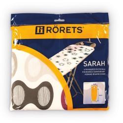 Чехол для гладильной доски RORETS 120х40см Sarah х/б+поролон 7557