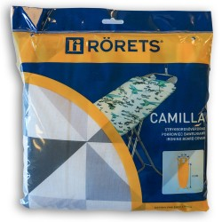 Чехол для гладильной доски RORETS 112х32см Camilla х/б+поролон 7548-01200