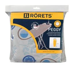 Чехол для гладильной доски RORETS 120х40см Peggy patterned металлизир+поролон 7557-01002