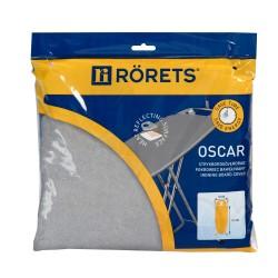 Чехол для гладильной доски RORETS 112х32см Oscar металлизир+поролон 7548-01201