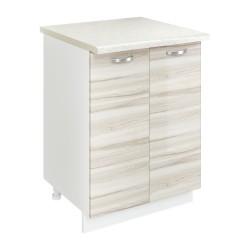 Шкаф-стол рабочий Сарма 600 Белый