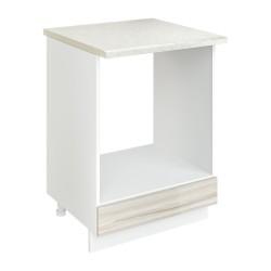Шкаф-стол рабочий под духовку Сарма 600 Белый