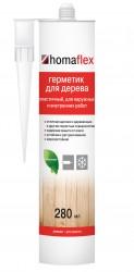 Герметик Homaflex Эластичный, 0,4кг/280мл, Светлый дуб