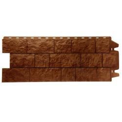 Фасадная панель Docke Fels (Скальный камень) Terrafels Терракотовый