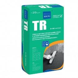 Штукатурка цементная армированная Kiilto TR, 25 кг