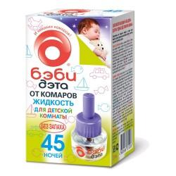 Средство инсектицидное БЭБИДЭТА детская жидкость от летающих насекомых 45 ночей флакон 30мл