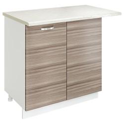 Шкаф-стол рабочий угловой Джус 800 Белый
