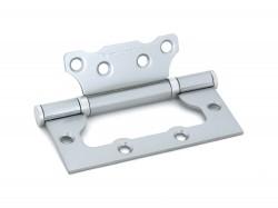 Петля дверная накладная Palladium 2BB-100 PC(перламутровый хром)