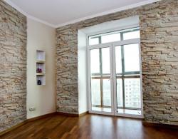 Камень интерьерный Сланец бежево-коричневый мрамор