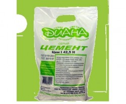 Цемент Diana М500, цвет серый, 3 кг