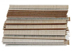 Гвозди для пнев. нейлера, длина - 25 мм, ширина - 1,25 мм, толщина - 1 мм, 5000 шт. MATRIX